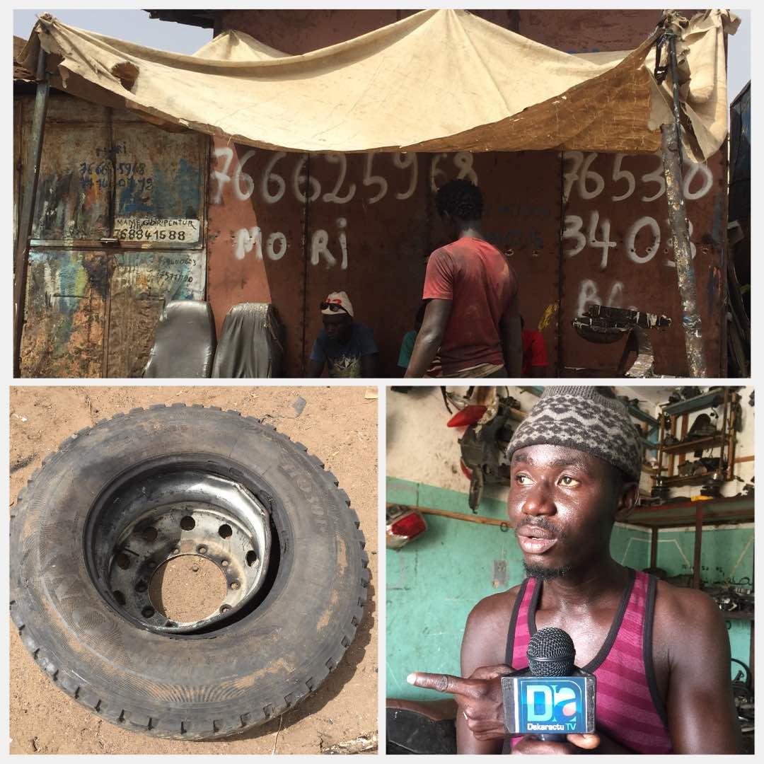 DRAME À TOUBA - Le pneu d'un camion éclate et tue sur le coup un apprenti vulcanisateur et brise les jambes de l'autre