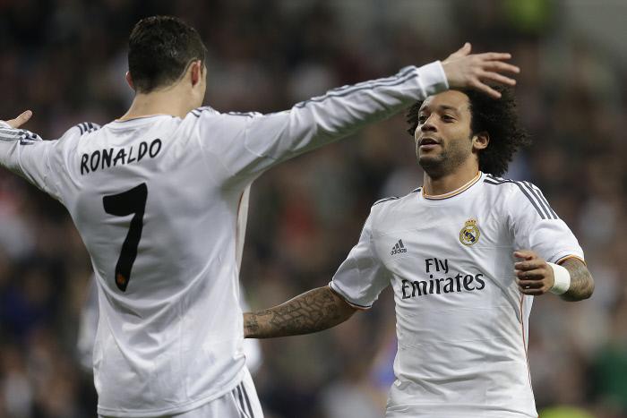 Real : Ronaldo manque à Marcelo