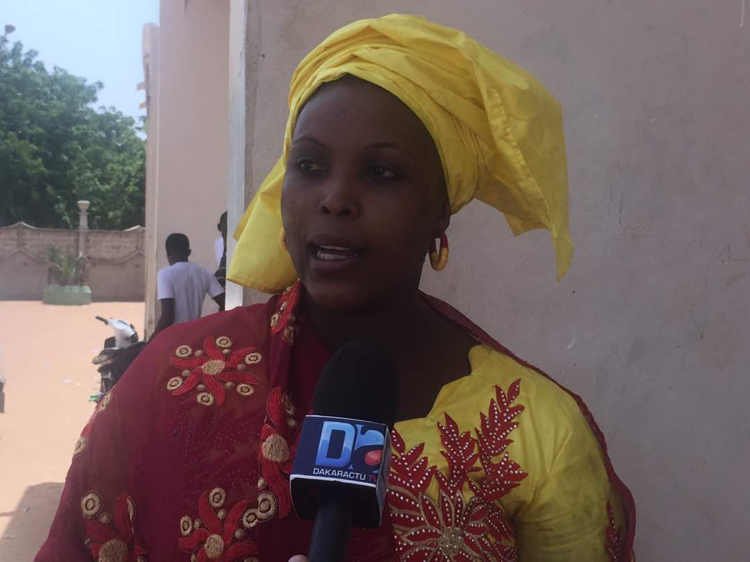 PRÉSIDENTIELLE 2019 - La mandataire  régionale de Serigne Modou Bousso Dieng confirme la candidature de son leader