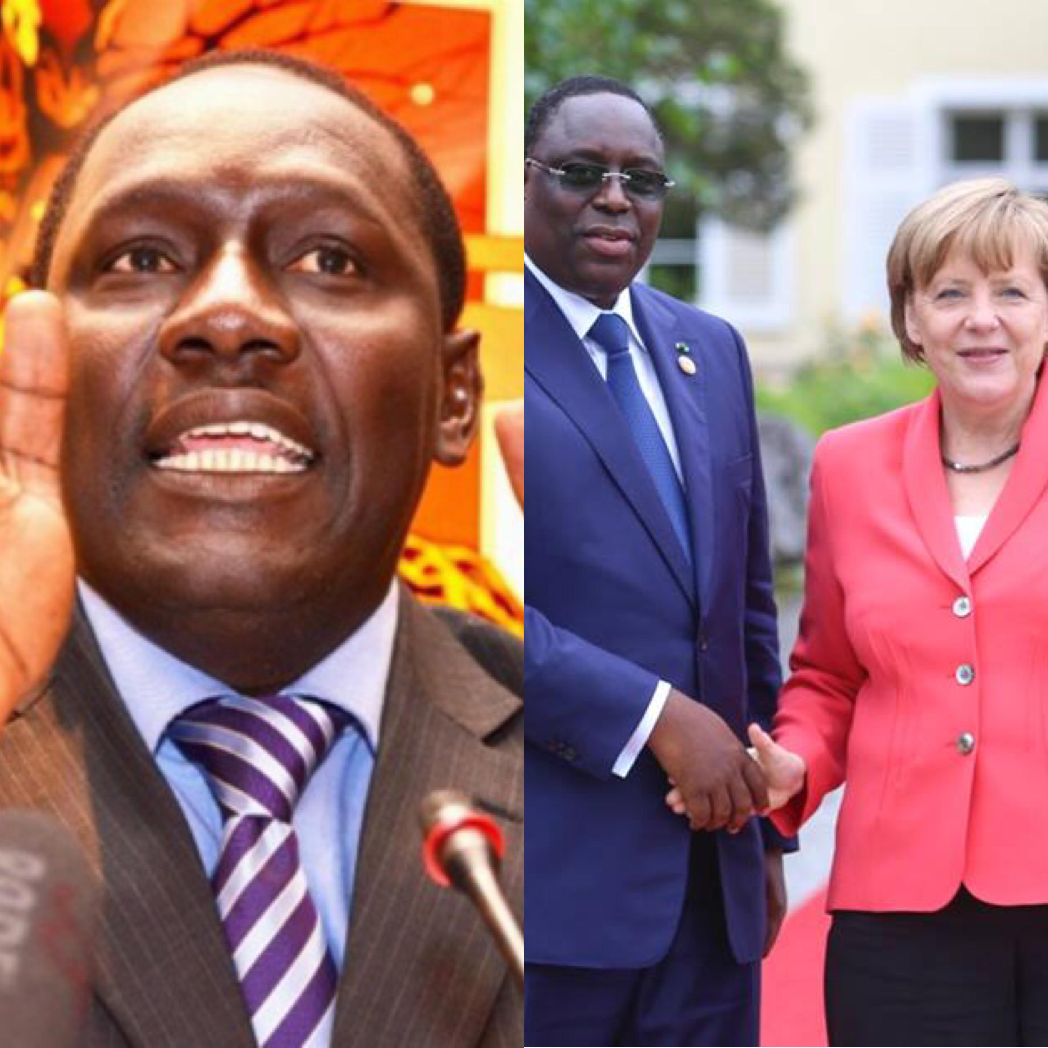 Patrimoine de Macky Sall ; opposants emprisonnés ; limousine Maybach à un milliard : Dr Lamine Ba alerte Angela Merkel