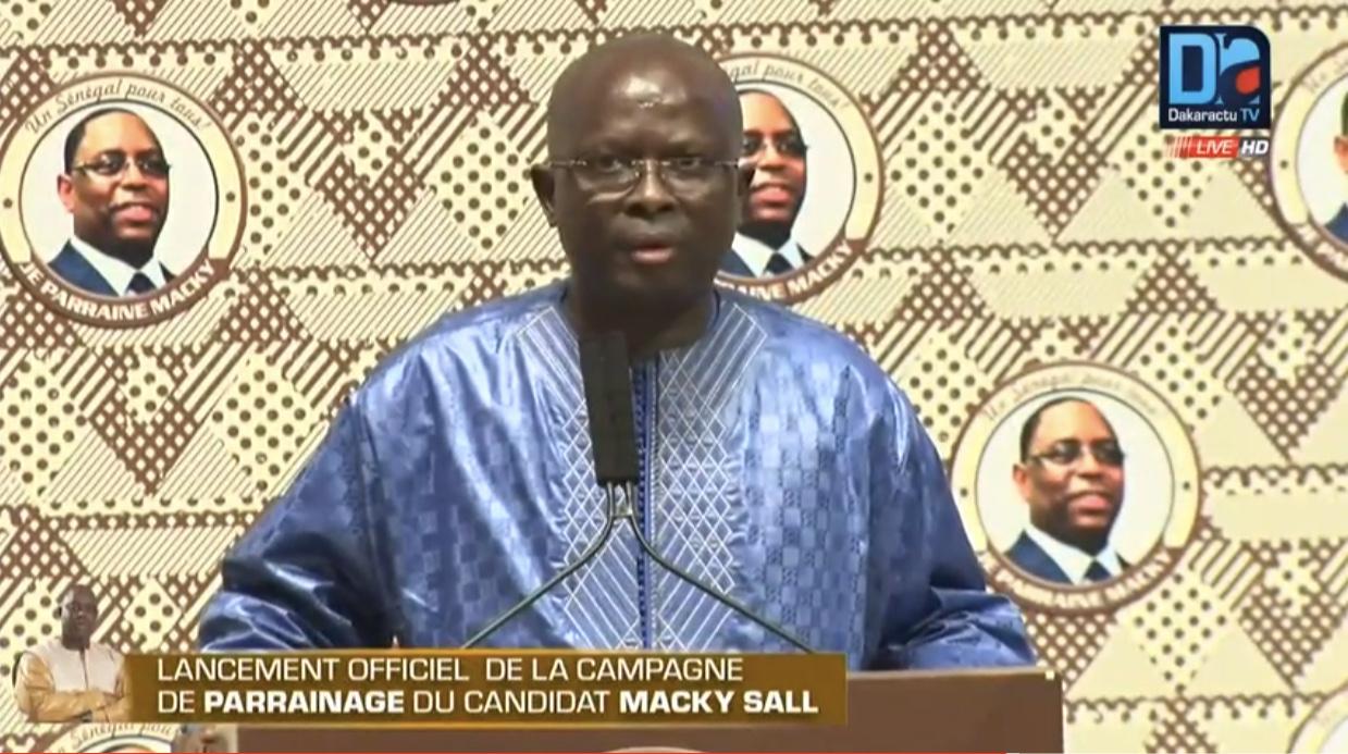 Parrainage-Modou Diagne Fada harangue le « Macky » : « Gagnons cette bataille de l'avant-premier tour »