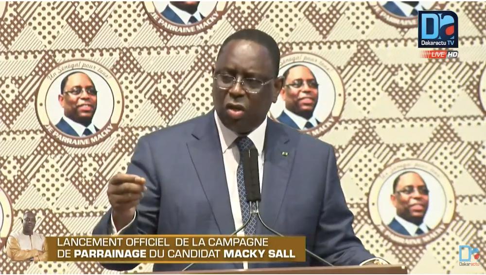 Macky Sall répond à Karim Wade et menace : « Nous ne pouvons plus accepter que nos magistrats soient insultés »