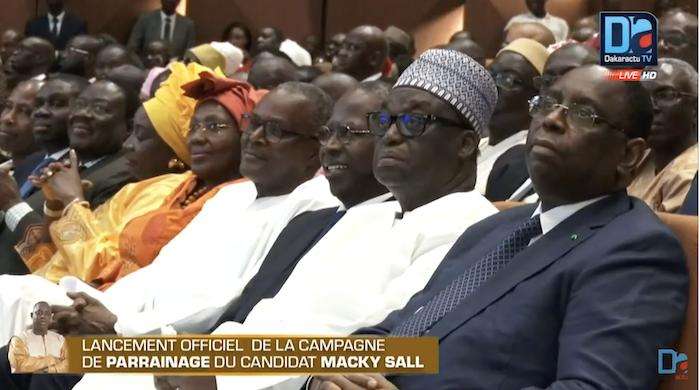 Lancement de la campagne de parrainage : Macky Sall réunit le gotha de la majorité présidentielle