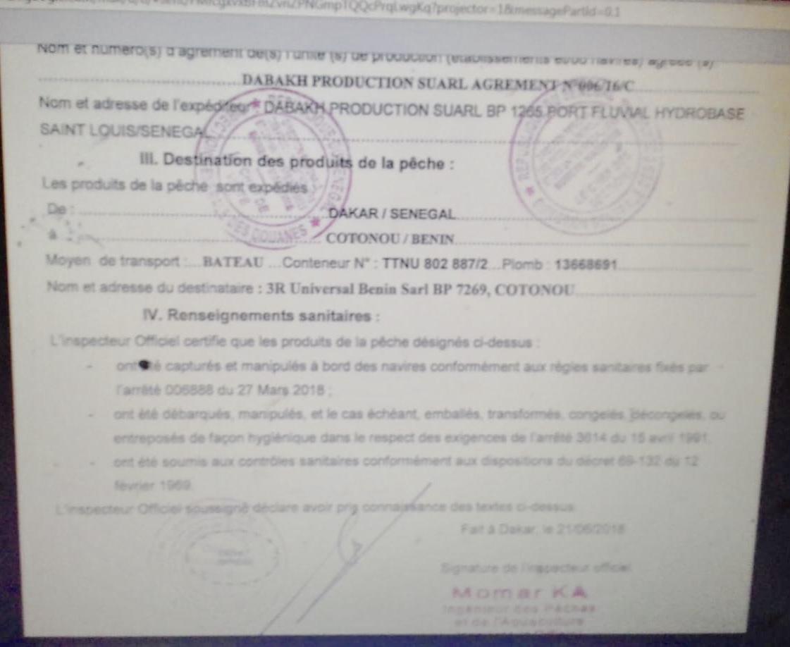 New african challenge pêche en eaux troubles : le patron Ibrahima Sall accusé d'arnaque (Document)