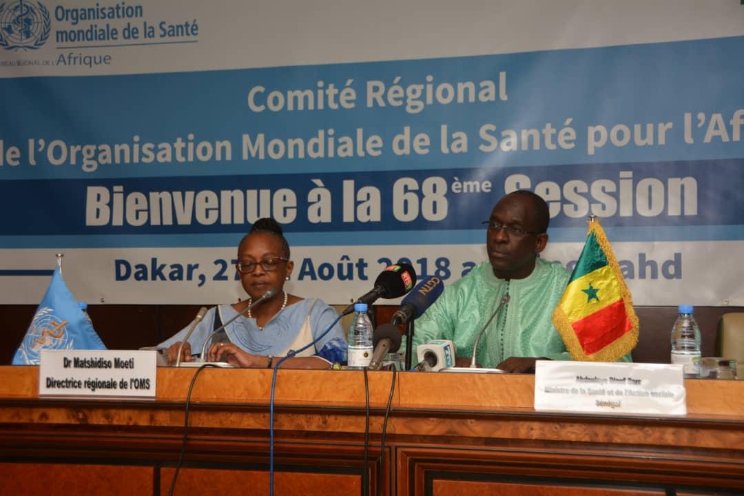 68ème session de l'OMS : Dakar pour relever les défis des maladies, le  Congo désigné pour accueillir la 69ème session.