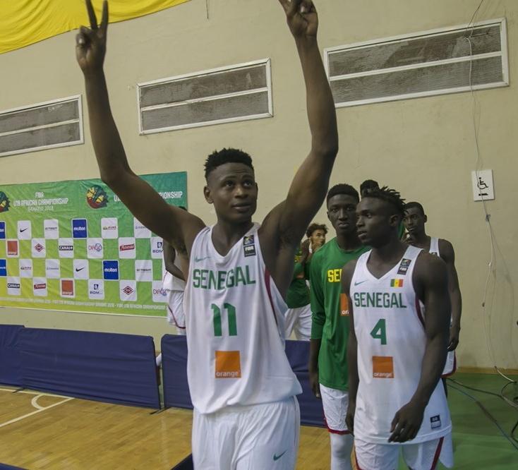 Basket : Le pivot du Sénégal, Biram Faye, élu meilleur rebondeur du Championnat d'Afrique U18