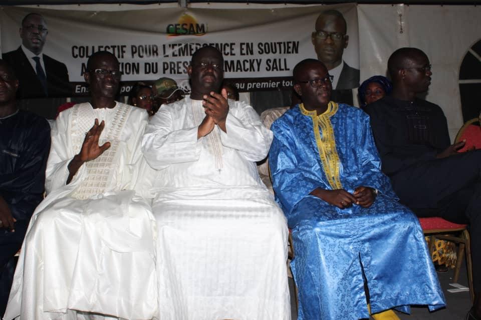 Guédiawaye : Le Dg des télécommunications adoube Aliou Sall et se fixe des objectifs pour le parrainage