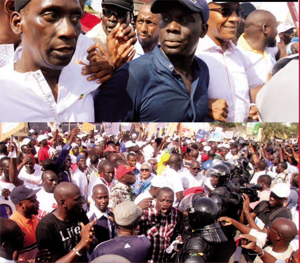Jour de Mars : Le Pds teste la rue avant le « retour » de Karim ; Taxawu Ndakaru pour le rétablissement du kalifat