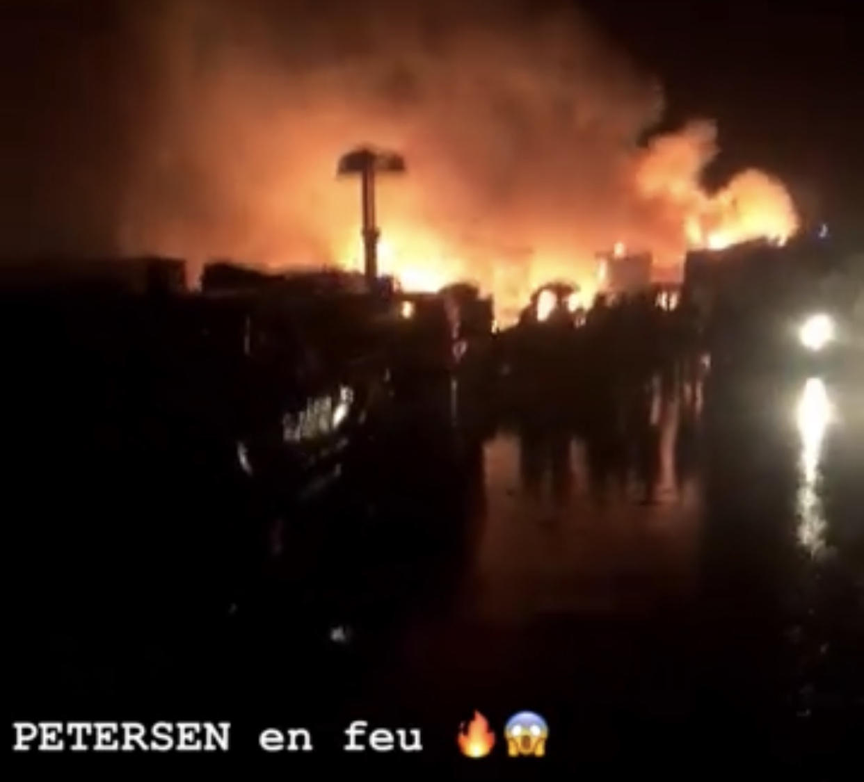 Incendie à la Gare Petersen : Plusieurs millions partis en fumée
