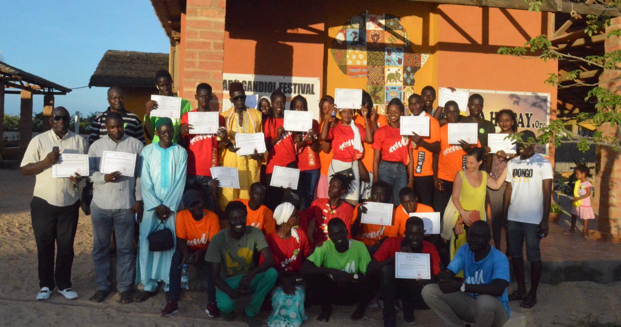 Éducation citoyenne à Gandiole : 30 ambassadeurs scolaires de la citoyenneté formés par des étudiants de l'UGB