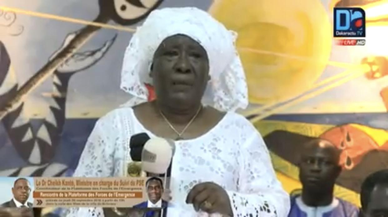 Présidentielle 2019 : Ndioro Ndiaye renouvèle son soutien à Macky Sall