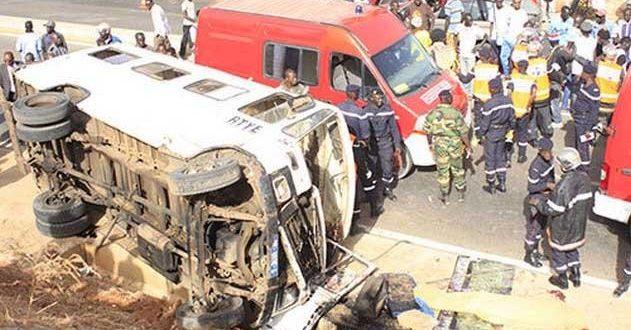 Accidents : Huit morts en un mois à Fatick