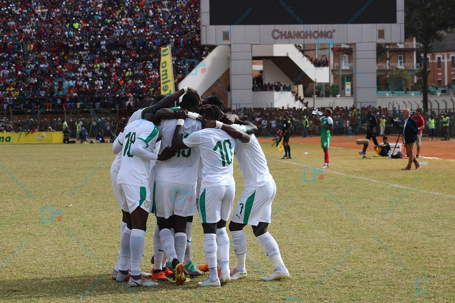 Match nul (1-1) à la mi-temps entre Madagascar et Sénégal