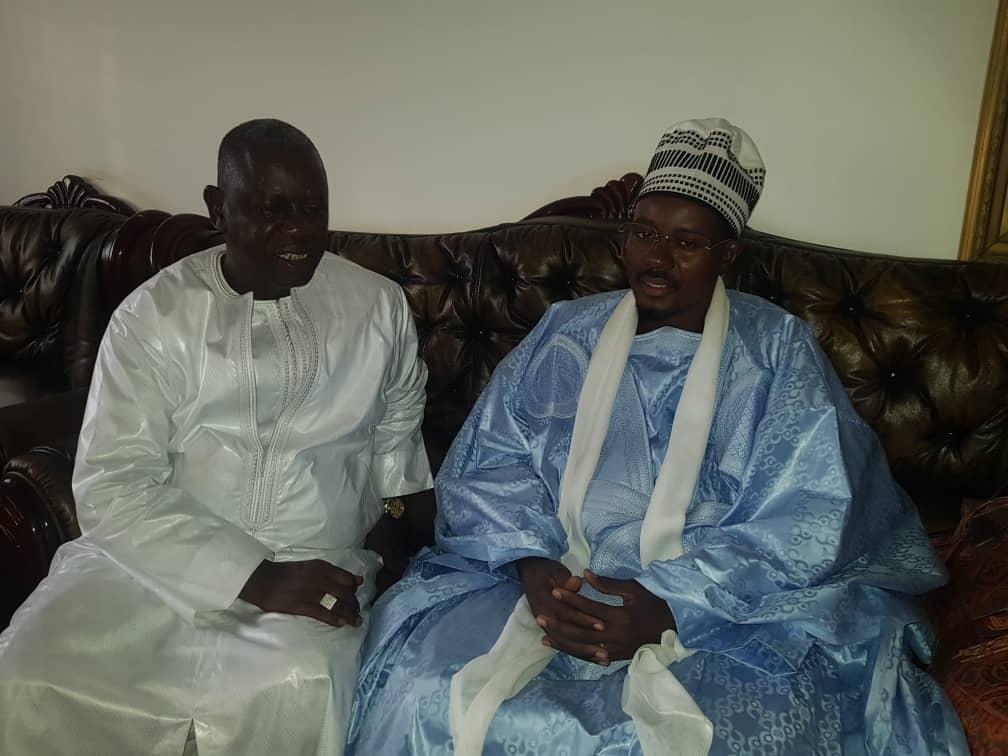 Oumar Diallo, le DG de la Douane Sénégalaise reçu par Serigne Bass Abdou Khadre Mbacké