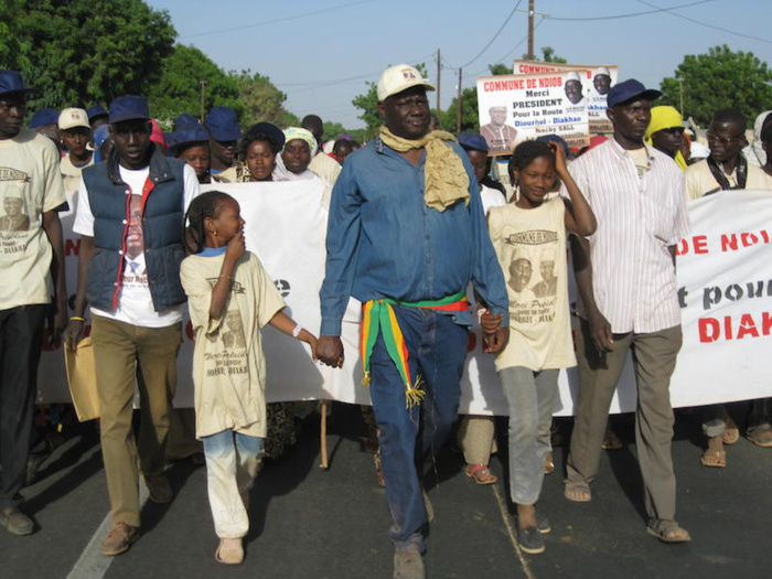 Parrainage à Fatick : Ndiob première commune à faire le plein