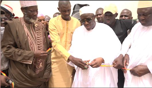 Cheikh Oumar Anne a inauguré le stade municipal de Dodel
