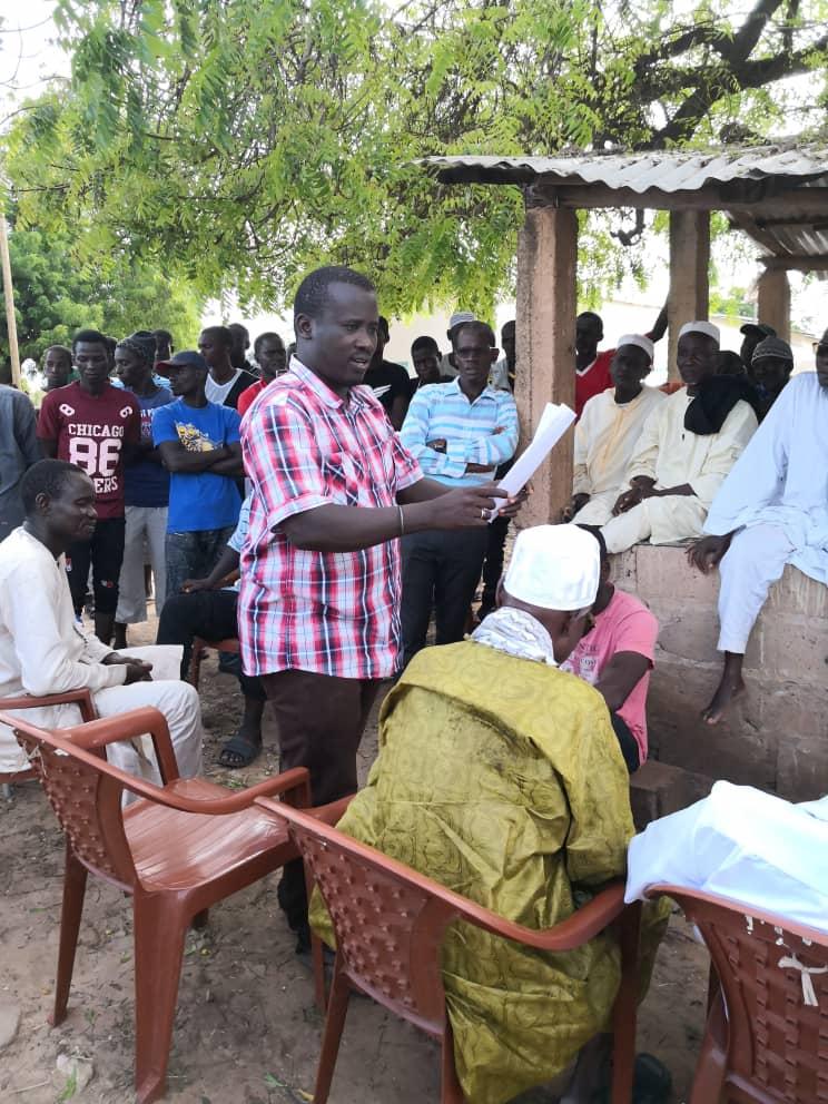 """SAMBA SALL ( Président du MRCD ) : """" À Dabaly, les 3/4 des personnes inscrites sur le fichier ont déjà parrainé le Président Sall """""""