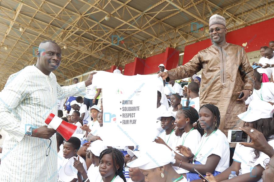 """Camp de vacances 2018 : """" Cheikh A. Tidiane Ba et Amadou Dia Ba mobilisent la jeunesse de la Médina autour de l'esprit sportif """""""