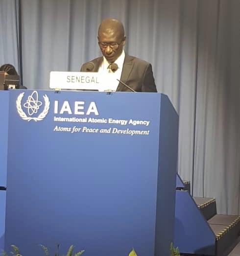 62ème session ordinaire de la Conférence générale de l'Agence internationale de l'Energie atomique (AIEA) en Autriche : Allocution du ministre de l'Enseignement Supérieur Mary Teuw Niane