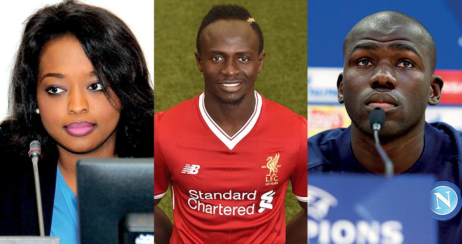 Sadio Mané, Amy Sarr Fall et Kalidou Koulibaly distingués parmi les 100 jeunes africains les plus influents du continent africain