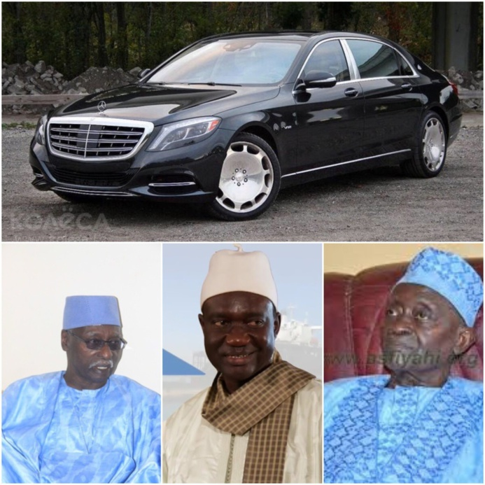 SERIGNE DJAMIL SY MANSOUR HONORE SES PÈRES : Une Mercedes S600 Maybach offerte à Serigne Mbaye Sy Mansour, une S420 à Serigne Sidy Ahmed Sy Babacar