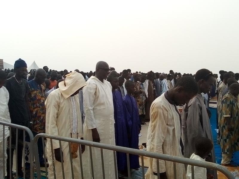 "24e édition ""Jullig Géej-gi"" : Serigne Fallou Abdou Khadre a dirigé la prière"