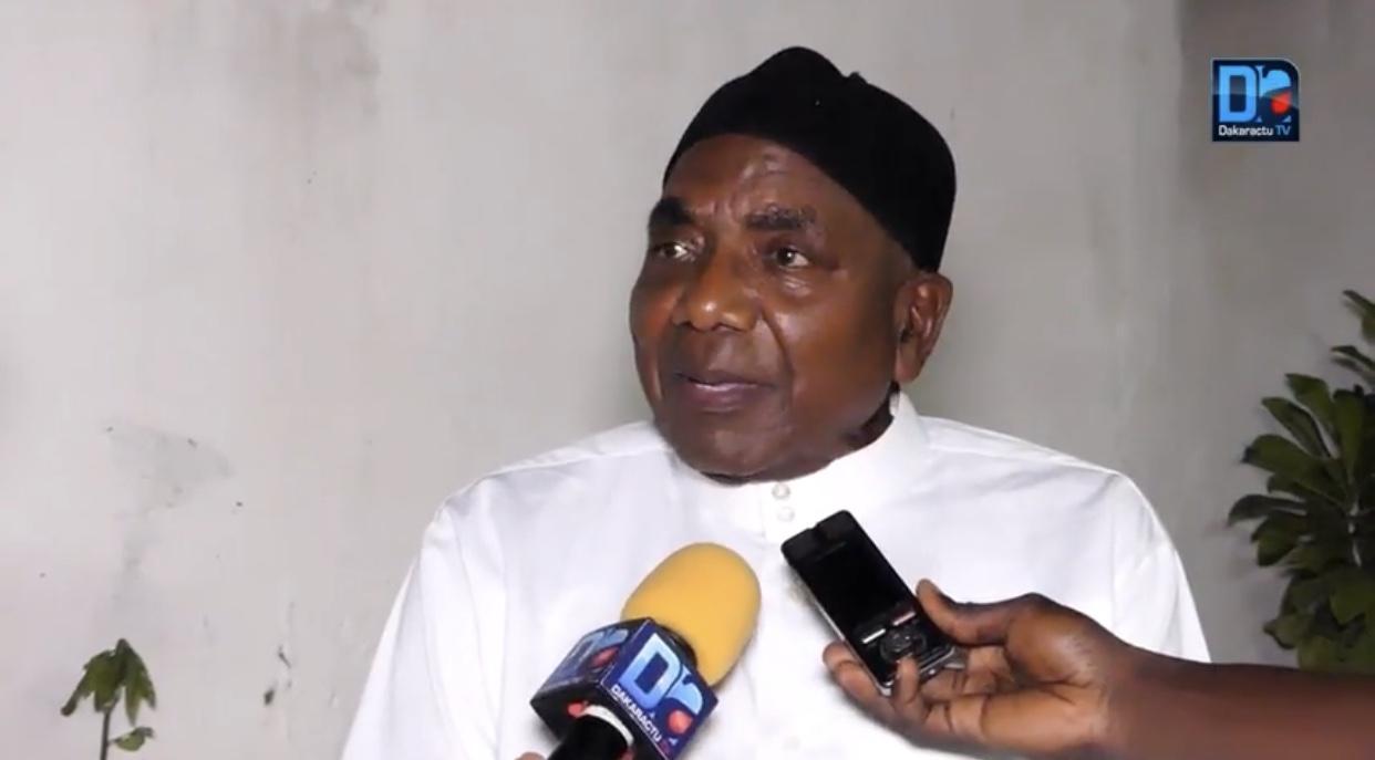 Michael Mbaye, pére de la victime