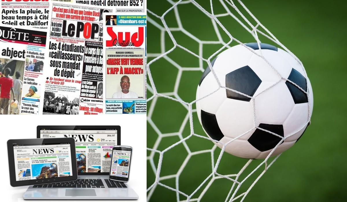 Tournoi Presse-Foot : La 7ème édition aura lieu du 7 au 21 octobre prochain