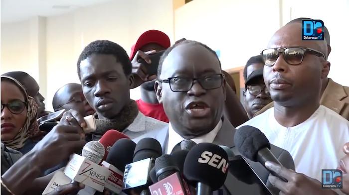 """Me El Hadj Diouf sur l'affaire Barthélémy Dias : """" On ne comprend pas la raison de cet empressement à le juger"""""""