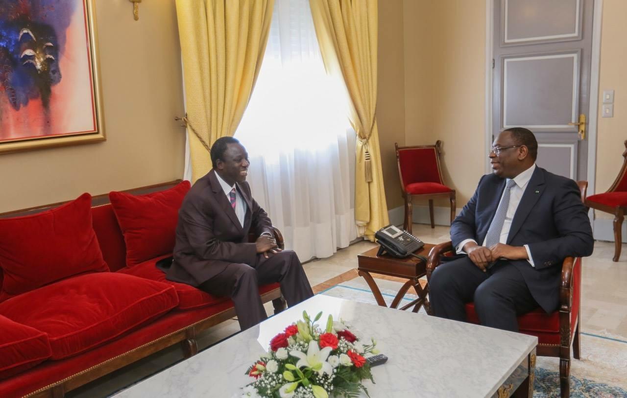 AUDIENCE AU PALAIS : Macky Sall reçoit Thione Ballago Seck