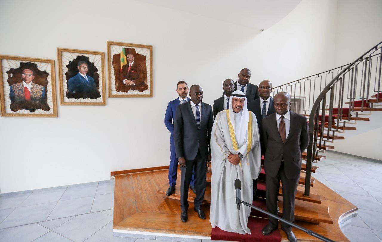 Jeux olympiques de la jeunesse au Sénégal en 2022 : Macky Sall reçoit le Prince Cheikh Ahmad Al Sabah