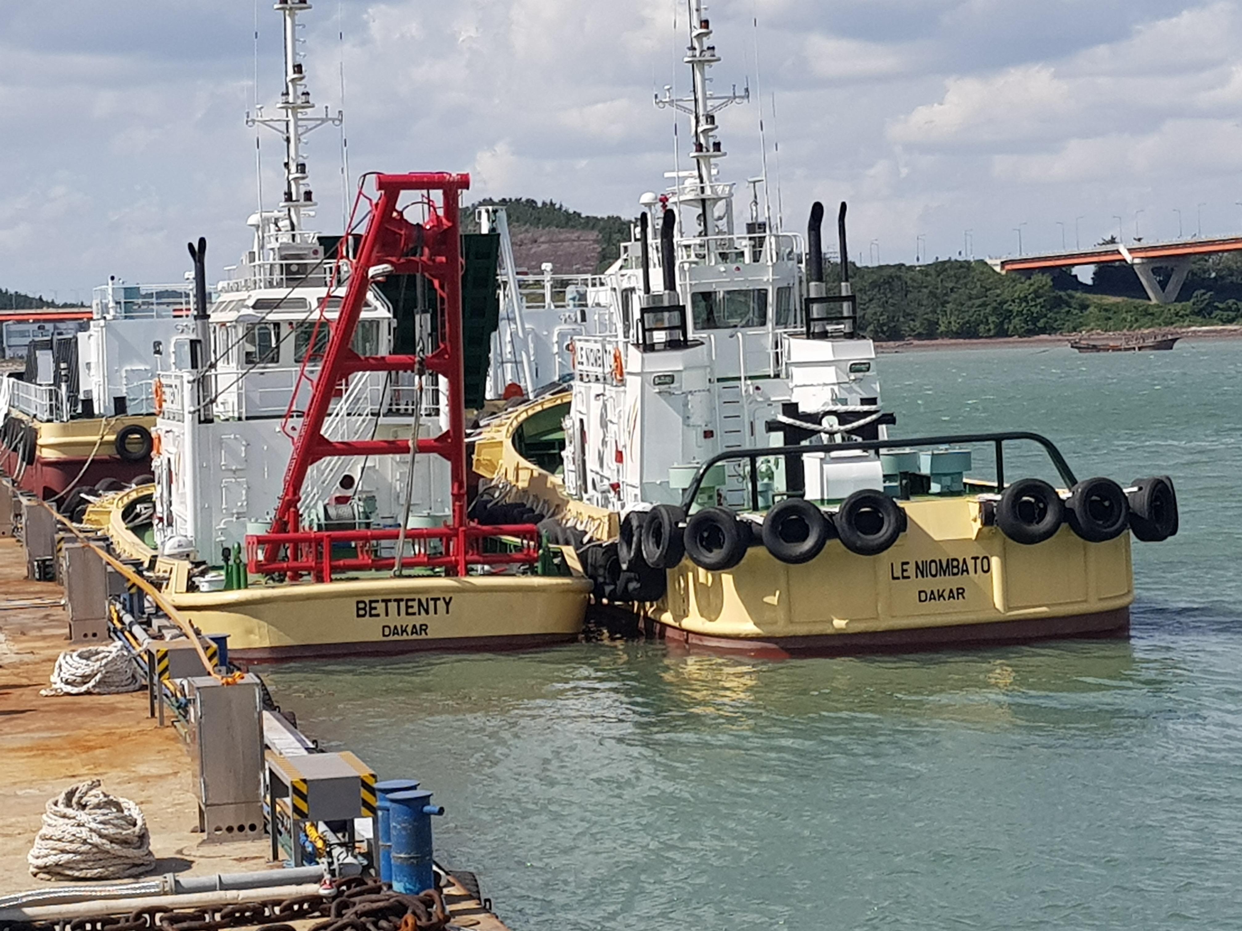 Corée : L'ANAM réceptionne les navires dans le cadre du projet MIEP 2