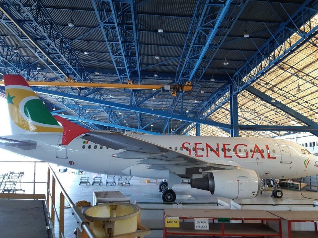 Air Sénégal se dote d'un Airbus A319 pour la desserte de la sous-région