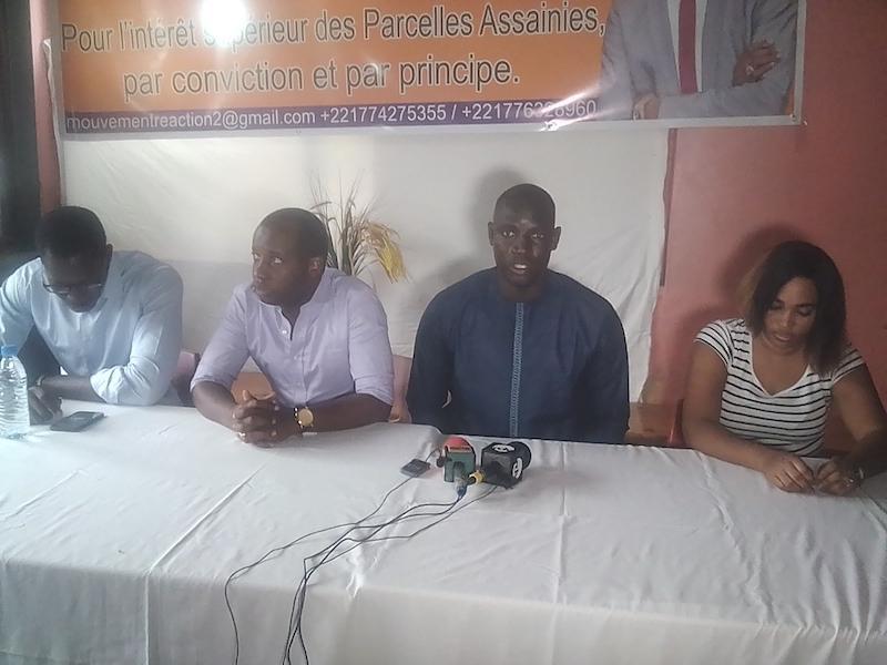 Parcelles Assainies : Le mouvement Renaissance pour l'action citoyenne fustige la volte-face du maire Moussa Sy
