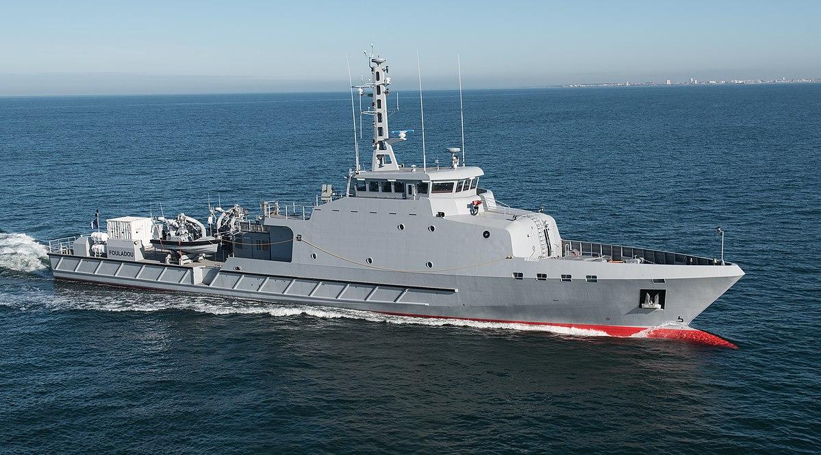 La marine Sénégalaise intercepte deux navires chinois