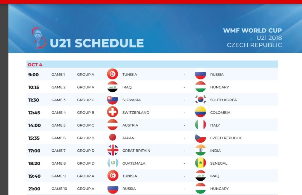 Coupe du monde U21 mini-foot : Les matches du Sénégal diffusés en direct sur DakaractuTV (jour, heure, lieu...)