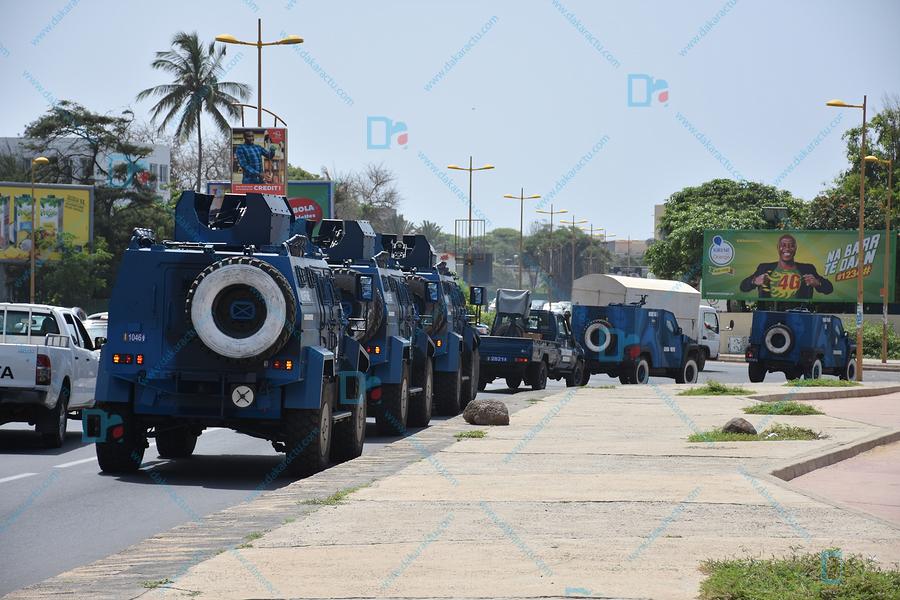 Le Président Sall à l'Université cet après-midi : « L'arsenal » sécuritaire renforcé