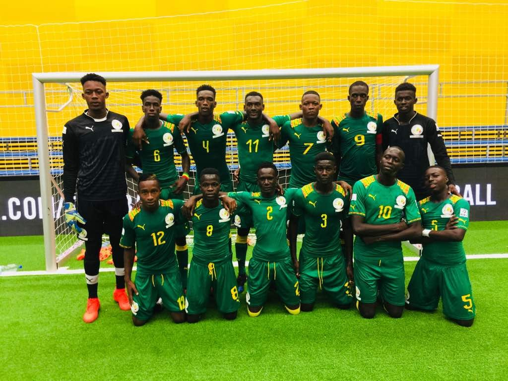 Mini-foot : Le Sénégal bat l'Angleterre (4-1) et poursuit son sans-faute en Coupe du monde U21