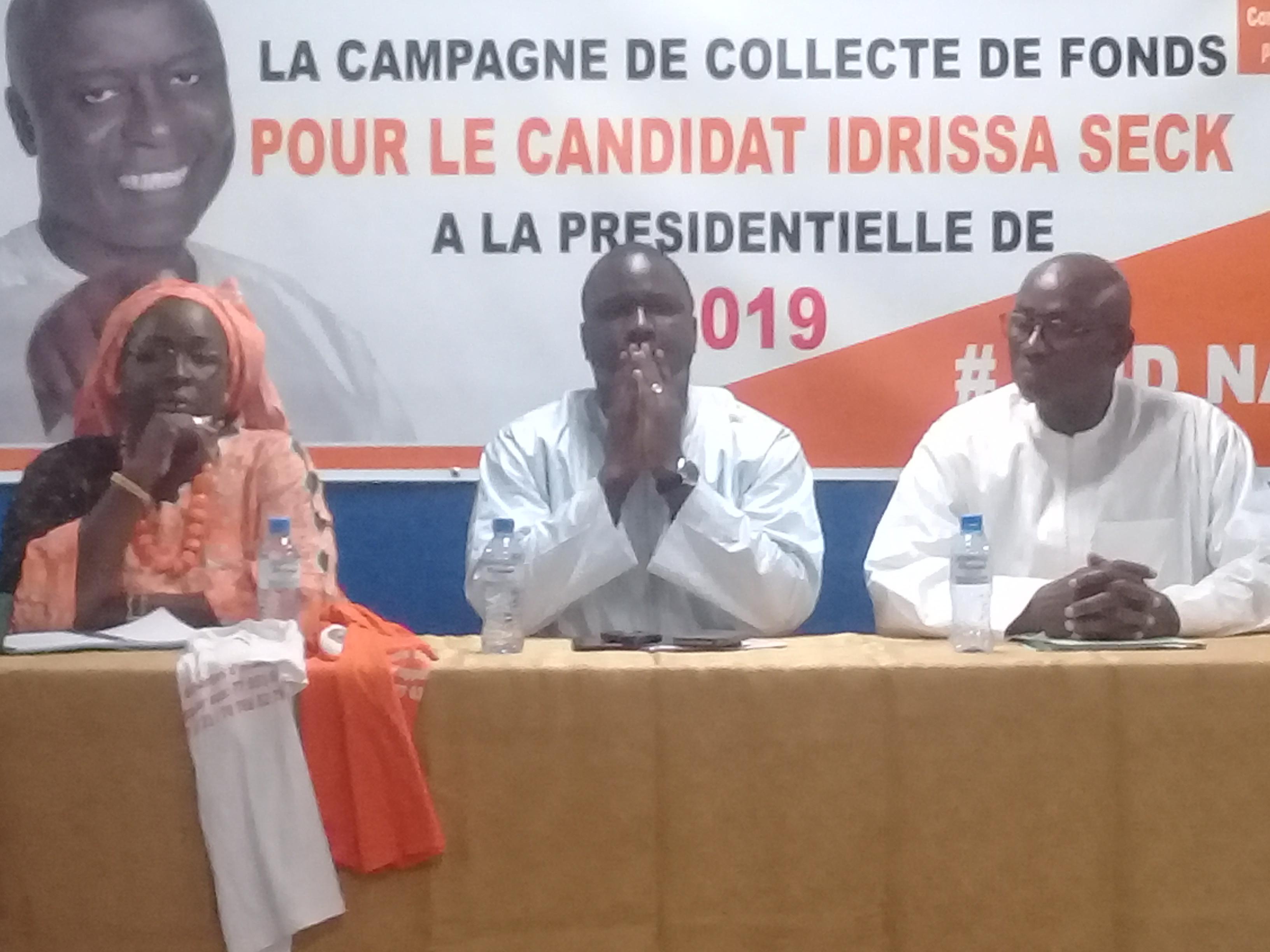 Présidentielle 2019 : Les Rewmistes veulent mobiliser plus de 2 milliards pour financer Idrissa Seck
