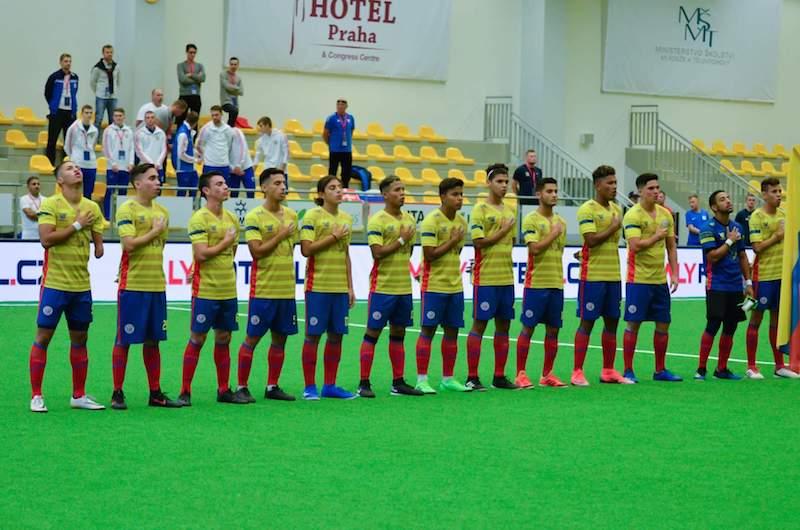 CDM minifoot U21 Prague / 1/2 finale : La Slovaquie s'impose devant la Colombie (3-0) et atteint la finale