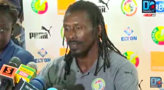 Aliou Cissé : «Le nombre de buts qu'on prend ne me va pas»