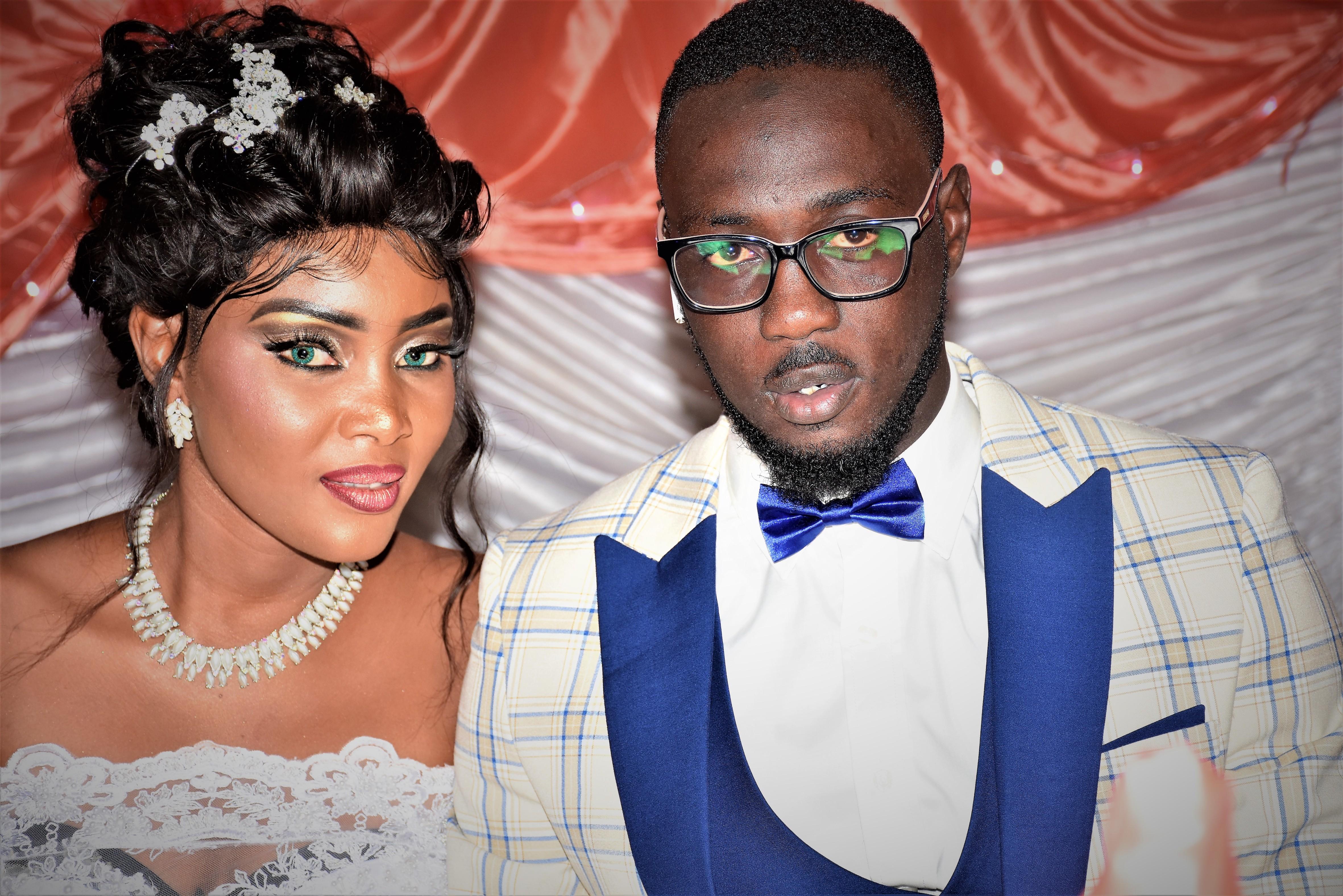 Les Images de la réception du mariage de Boury Mbaye, photographe à Dakaractu et Coura chou