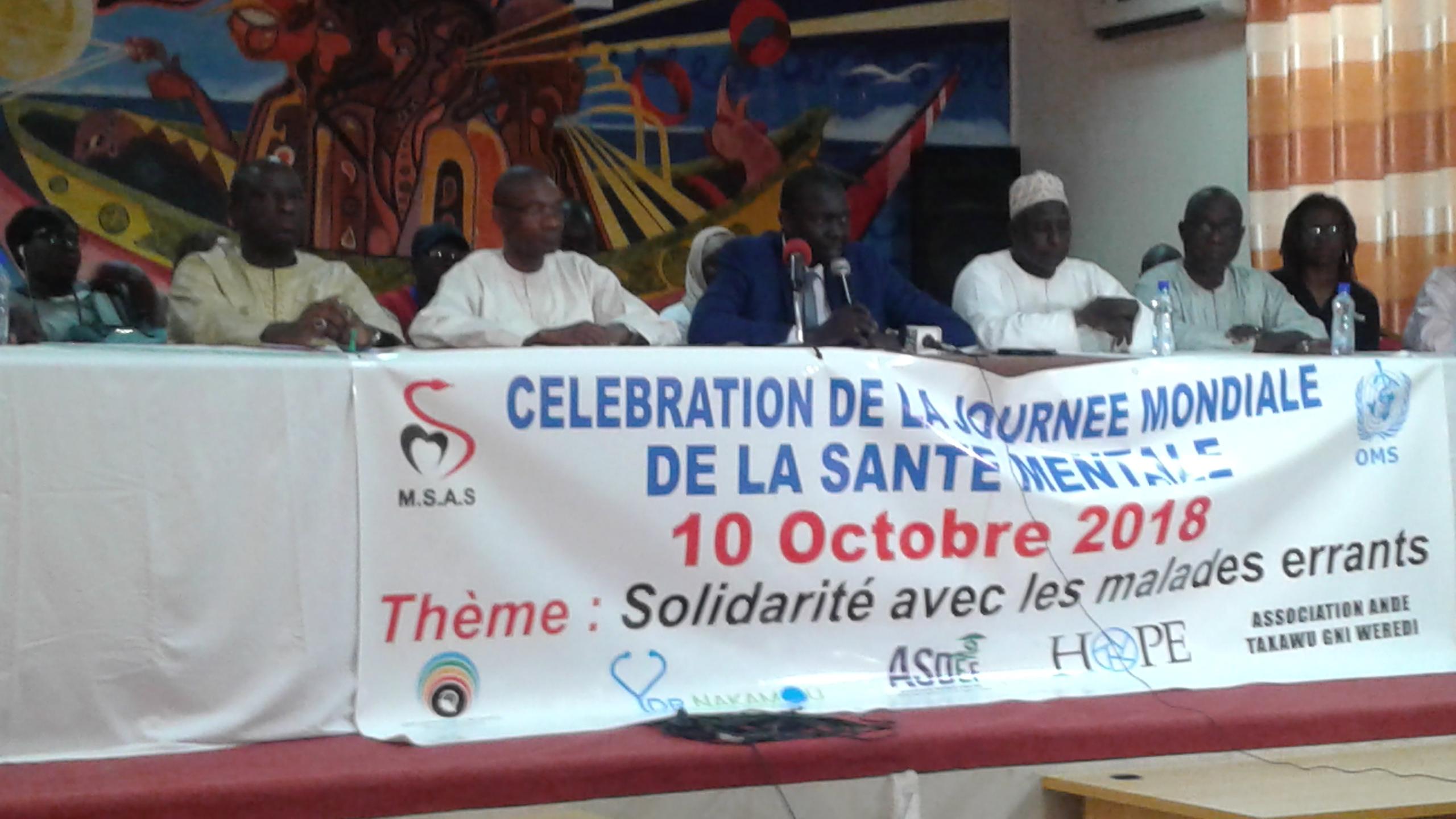 Rufisque/ Journée Mondiale de la santé mentale : « La problématique de la santé mentale c'est d'abord l'accompagnement familial » (Aloyse Waly Diouf, DC MSAS)