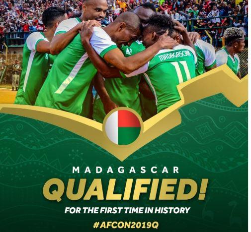 CAN 2019 : Madagascar, premier qualifié pour la phase finale !