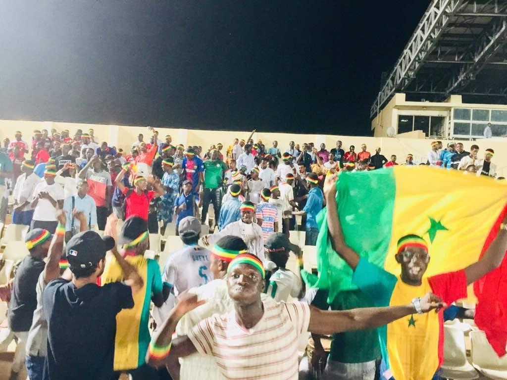 Soudan/Sénégal : Les étudiants sénégalais bien présents et en nombre au stade de Khartoum pour booster les Lions