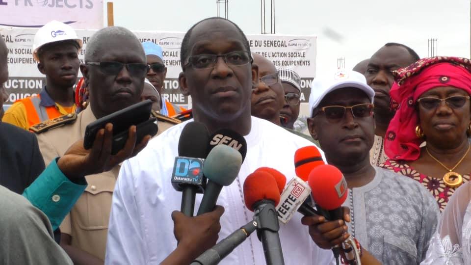 LA DENGUE À TOUBA - Abdoulaye Diouf Sarr ne s'en cache pas... question d'éviter la propagation