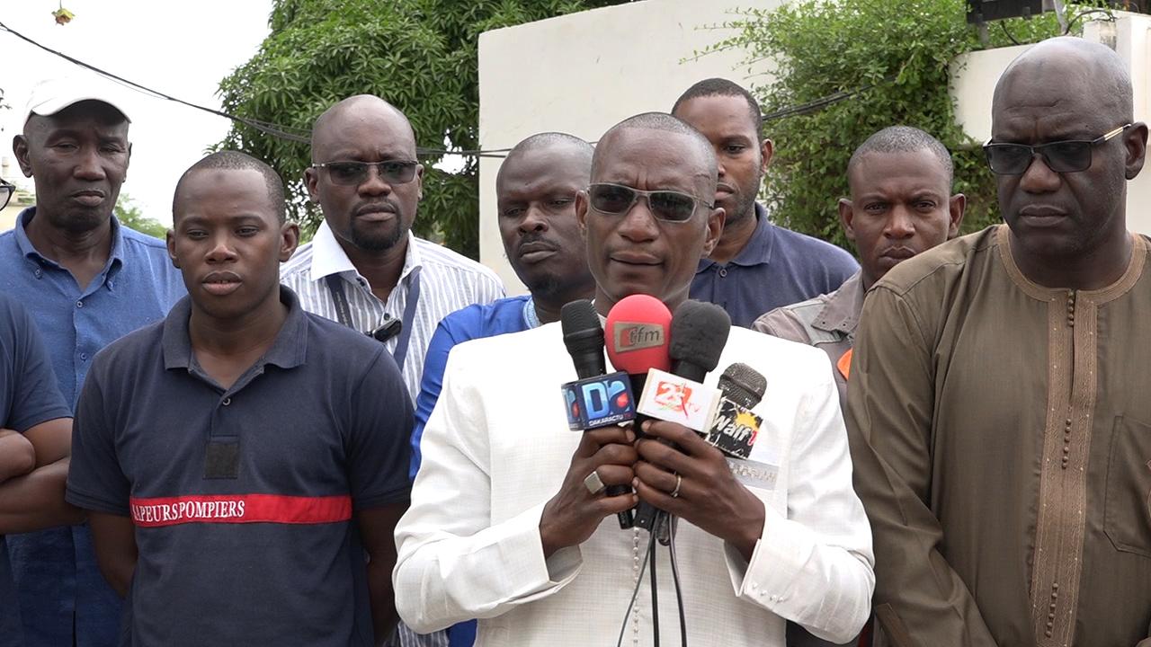 SAINT-LOUIS : Le Collectif National des travailleurs de l'Agence Des Aéroports du  Sénégal monte au créneau et dénonce les mauvaises conditions de travail  de ses agents