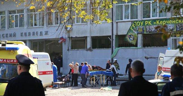 Crimée : un élève a abattu au moins 18 personnes et fait une cinquantaine de blessés