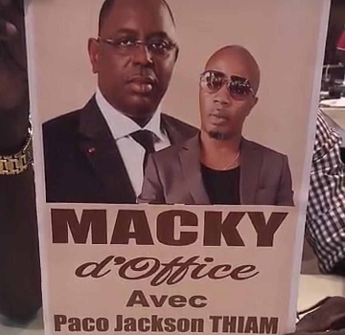 Paco Jackson Thiam lance «Macky d'Office»