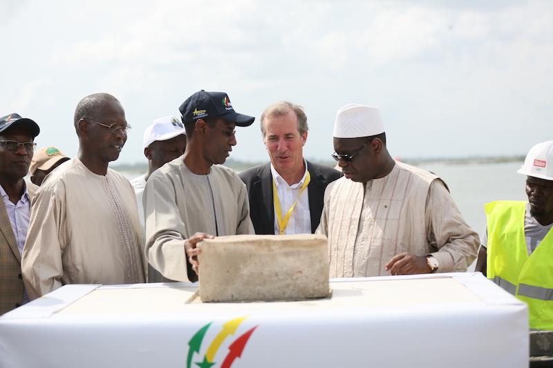 D'un coût total de 20 milliards : Les travaux du pont de Marsassoum lancés par Macky Sall